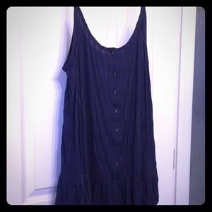 Torrid Navy Blue w/Silver Pinstripe Cami size 3x